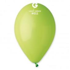 """Пастель САЛАТОВЫЙ (Light Green) 10""""(26см) MAXI 500шт"""