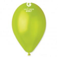 "Металлик САЛАТОВЫЙ (Light Green) 10"" (26см)"