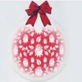 """Шар-Упаковщик РОЗОЧКИ 18"""" (45см) кристалл прозрачный(стекло) Для упаковки подарков и цветов"""