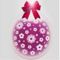 """Шар-Упаковщик ЦВЕТОЧКИ 18"""" (45см) кристалл прозрачный(стекло) Для упаковки подарков и цветов"""