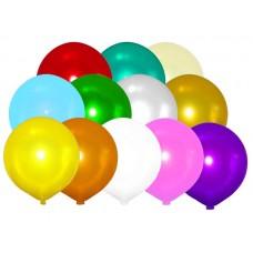 """Шары-сюрприз 31"""" (80см) Металлик АССОРТИ (10-12 разных цветов)"""
