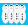 """Снеговик фигурный 24""""(60см) белый пастель"""
