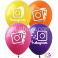 """Instagram 12""""(30 см) 4 цвета (1 сторона)"""