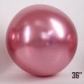 """Шар-Гигант ArtShow ХРОМ  36""""(90см) РОЗОВЫЙ"""