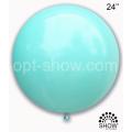 """Шар-Гигант Art Show 24""""(60см) пастель MACARON АКВАМАРИН"""