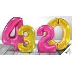 """Цифры миди 32"""" (под гелий и воздух)"""