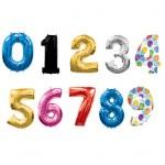 Цифры и Буквы из фольги