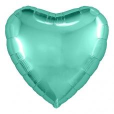 """Сердце 30""""(80см) БИСКАЙСКИЙ ЗЕЛЁНЫЙ (755808) в упаковке, Agura"""
