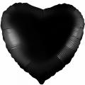 """Сердце 18""""(46см) ЧЁРНОЕ (750872) Agura"""