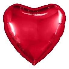 "Сердце-мини 9""(23см) КРАСНОЕ с клапаном (756249) Agura"