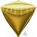 """Алмаз 3D 17""""(43см) ЗОЛОТО металлик"""