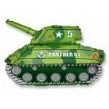 """Танк зелёный 14""""(35см) мини-фигура"""