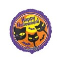 """Круг 18""""(46см) Кошечки Halloween (в упаковке)"""