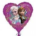 """Сердце 18""""(46см) Принцесса Анна и Эльза ,""""Холодное сердце"""", с любовью"""