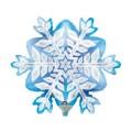 """Снежинка 14""""(33см) мини-фигура"""
