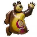 """Медведь и Маша 36""""(90см) Фигура Большая"""