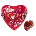 """Сердце """"I Love You"""" с гирляндой 23""""(58см) Фигура Большая (в упаковке)"""