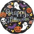 "Круг 18""(46см) Happy Halloween Веселье (в упаковке)"