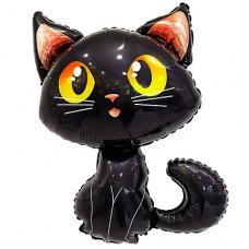 Чёрный Кот Фигура Большая