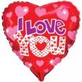 """Сердце 18 """" ( 46см ) """" Я Тебя Люблю """""""