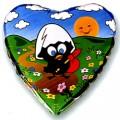 """Сердце 18""""(46см) Калимеро путешественник"""