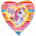 """Сердце 18""""(46см) Моя маленькая Пони"""