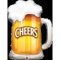 """Пиво Кружка 35""""(89см) Фигура Большая (в упаковке)"""