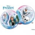 """Шар BUBBLE прозрачный 22""""(56см) Disney ХОЛОДНОЕ СЕРДЦЕ (Frozen - 2 разных рис.)"""