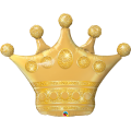 """Корона Золотая 41""""(104см) Фигура Большая (в упаковке)"""