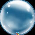 """Шар Deco BUBBLE  20""""(51см) ПРОЗРАЧНЫЙ - СТЕКЛО (без клапана) США"""