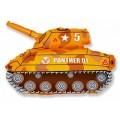 "Танк жёлтый 14""(35см) мини-фигура"