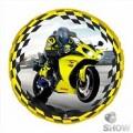 "Круг 18 "" ( 45см ) "" Мотоцикл"""