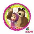 """Круг 18 """" ( 45см ) """" Маша  и Медведь """"(в упаковке)"""