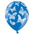"""Бабочки 14""""(35см) ассорти метталик (круговая)"""