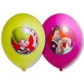 """Малыш и Карлсон (День Рождения) 14""""(35см) пастель ассорти (2 стороны - многоцветный)"""