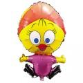 """Цыплёнок Присцилла 14""""(35см) мини-фигура"""