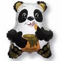 """Панда с мёдом  14""""(36см) мини-фигура"""