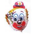 """Голова Клоуна В 30""""(75см) Фигура Большая"""