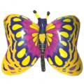 """Бабочка ЗОЛОТАЯ 23""""×35""""(59см×89см) Фигура Большая"""