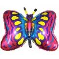 """Бабочка ФУКСИЯ 23""""×35""""(59см×89см) Фигура Большая"""