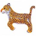 """Леопард СИНИЕ пятна  30""""×36""""(76см×90см) Фигура-Большая"""