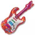 """Гитара красная 45""""×20""""(112см×50см) фигура Большая"""