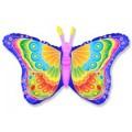 """Бабочка - Кокетка РОЗОВАЯ 22""""×38""""(56см×97см) Фигура Большая"""