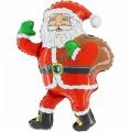 """Санта Клаус с мешком 14""""(35см) мини-фигура"""