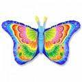 """Бабочка - Кокетка ГОЛУБАЯ 22""""×38""""(56см×97см) Фигура Большая"""