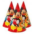 """Колпачок маленький (16см) """"Микки Маус"""" кр.(шарики)"""