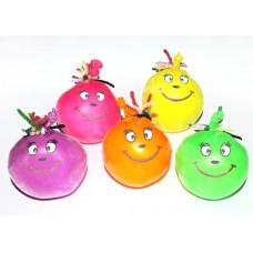 Игрушка Веселина (латексный шар с пищевым мелом) Неон