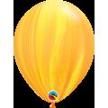 "СуперАгат 11""(28см) ЖЁЛТО - ОРАНЖЕВЫЙ (Yellow Orange Rainbow)"