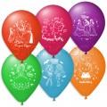 """Микс Мультяшки Disney для ДЕВОЧЕК 12""""(30см) пастель ассорти (2 стороны) Укр"""
